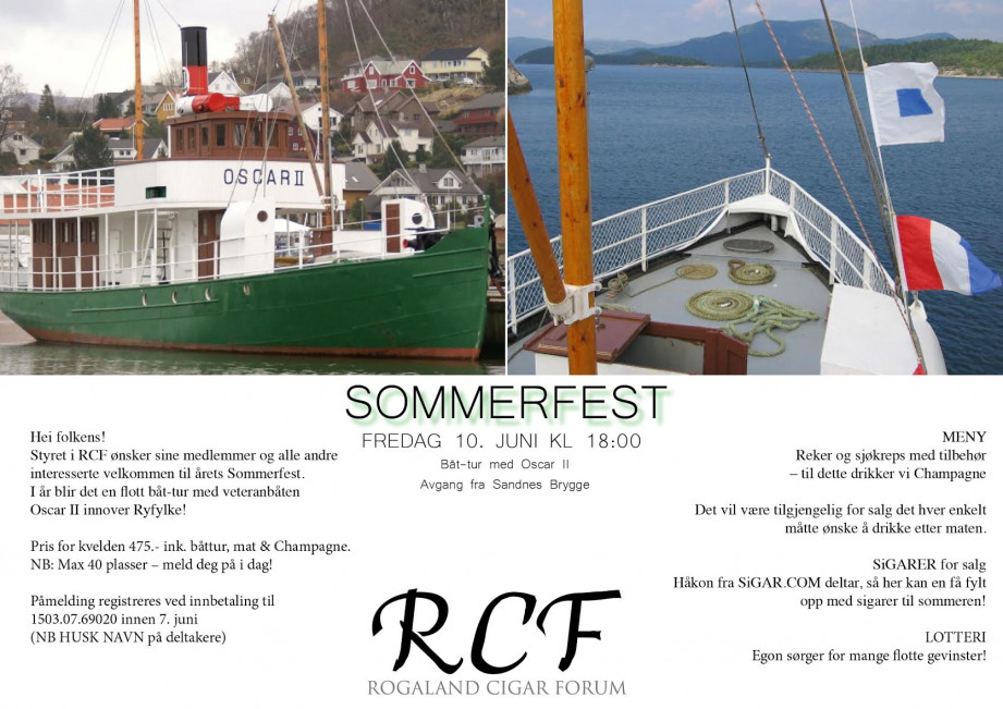 Sommerfest RCF